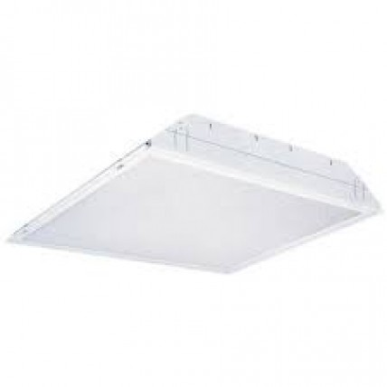 Recessed light fitting (clean room)